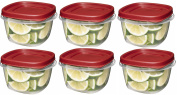 Rubbermaid 7J60 Easy Find Lid Square 2-Cup Food Storage