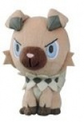 Pokemon Sun & Moon Stuffed Plush Toy - Rockruff