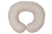 BAJBI® | U Shape Travel Pillow / Neck Protector for Kids | Cotton/Minky | Antiallergic | Made in EU | many colours and patterns