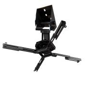 QualGear Pro-AV QG-KIT-VA-7.6cm -B Projector Mount Kit Accessory Vaulted Ceiling Adapter, 7.6cm 3.8cm , Black