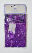 Donner and Blitzen 50 purple ornament ribbon hooks - 0.375 x 3.75