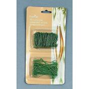 Premier Decorations Premier Decrorations Ornament Hooks, Green, Twin Pack 150