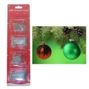 Silver 300 Ornament / Bauble Christmas Multi Purpose Tree Decoration Hooks / Hanger Art Craft by Concept4u