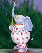 18cm Patience Brewster Krinkles Eleanor Elephant Decorative Christmas Figure Ornament