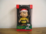 Peanuts Charlie Brown Santa Hat Christmas Holiday Clip on Ornament Figure Forever Fun