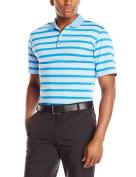 adidas Golf Men's Climacool Sport Classic Stripe Polo Shirt