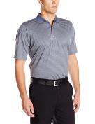 Fairway & Greene Men's Bar Stripe Lisle Polo Shirt