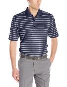 Greg Norman Collection Mens ML75 Micro Lux Stripe Polo