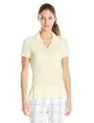 adidas Golf Women's Tour Peplum Polo Shirt