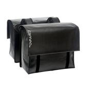 Cameo Bicycle Bag - Bisonyl Double Black, 49 Litre
