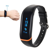 Corprit Fitness Tracker Heart Rate Monitor Activity Tracker Waterproof Smart Bracelet with Pedometer Calorie Sleep Alarm Clock Call SMS Notification for Android IOS Smartphones Independent APP