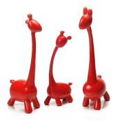 Max Home@ Modern minimalist ornaments creative home accessories living room ornaments resin ornaments giraffe family of three abstract decoration ornament