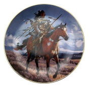 Proud Hunter Tom Beecham Native American Plate CP2579