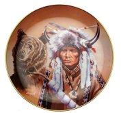 Spirit Of The Great Bear Hermon Adams Native American Plate CP2570