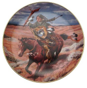 Free As The Wind Tom Beecham Native American Plate CP2576