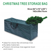 BenefitUSA Heavy Duty Large Artificial Christmas Tree Storage Bag For Clean Up Holiday Green Up to 2.7m