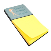 Caroline's Treasures BB5379SN Dancing is Like Dreaming Sticky Note Holder , Large, multicolor