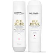 Goldwell Dualsenses Rich Repair Restoring Shampoo 250ml & Conditioner 200ml