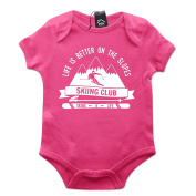 Life Is Better On The Slope Baby Grow PT499
