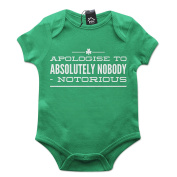 Apologise To Absolutely Nobody Baby Grow PT482