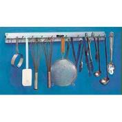 Kitchen Utensil Rack 46cm Long, 6 Hangers 1 Each