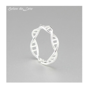 Helen de Lete Innovative DNA Sterling Silver Ring