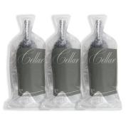 Cellar Wine Bag Bottle Protector - Travel Friendly | Reusable | Leakproof | Eco-Friendly Bubble Cushion