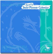 Dodo Family Planner Calendar 2018 - Month to View with 5 Daily Columns