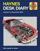Haynes 2018 Desk Diary