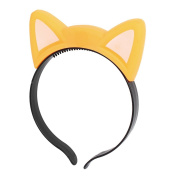 Party Cosplay Flashing Cat Ear Design Light Hair Band Hairband Yellow