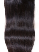 Jasnelle Hair| 60cm Inches Straight Grade AAA 100% Brazilian Remy Human Hair Extension Hair| Colour #1B| UK SELLER
