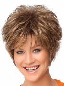 Tonake Women Lady New Short Wavy Hair Wig Heat Resistant