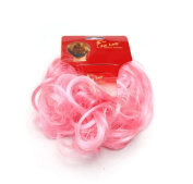 Ponyholder #Pink Scrunchy Scrunchie Bun Updo Hairpiece Hair Ribbon Ponytail Extensions Curly