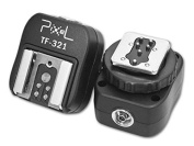 Pixel TF-321 TTL Flash Adapter for Studios and Flash Units with PC Sync-Socket for Canon