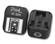 Pixel TF-325 Flash Shoe Converter for Sony to Canon / Nikon Flash Units With PC Sync Socket