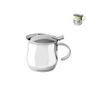 Habi to Serve Cafetiere, 450 ml, Stainless Steel, 12 x 9 x 9 cm