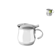 Habi Cafetiere to Serve, 300 ml, Stainless Steel, 12 x 8 x 8 cm