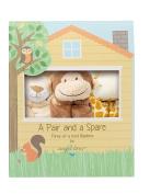 Angel Dear Pair and a Spare 3 Piece Baby Blankie Set-Jungle Safari