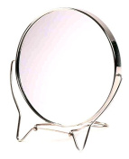 Gold Badger Shaving Mirror Silver