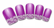 Flyyfree DIY Nail Art Water Transfers Stickers Decals