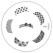 Konad Stamping Image Plate for Nail Art M56