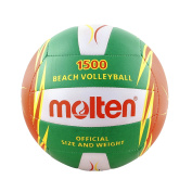 Molten V5B1500, volleyball ball,green colour, size 5.