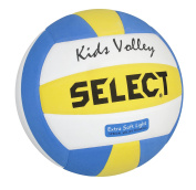Select Volleyball Kids White/blue/yellow, 4 - 2144600205
