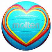 molten V5B1501-B Volleyball Blue / Red / Orange Size 5