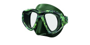 Seac One Pirana Unisex Adult Mask, Green Camouflage