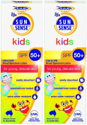 SunSense Kids Roll On with SPF50 and Sunscreen 50ml -