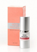ROSA PRETIOSA natural EYE CONTOUR cream with Organic Rose Oil, BIO Luxurious skincare with Rose Oil