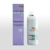Innature Deluxe Cosmetic - Gentle Cleansing Milk 200ml With Black Berry Zistrose, Organic Certified Natural Cosmetics