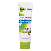 Garnier Pure Active Matcha De-Tox Follution & Oil Deep Clean Foam Acne Prone Skin Green Tea 50mL Oily Skin Dirt Pollution Particles