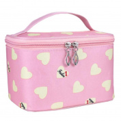 Koly Women Toiletry Travel Zipper Makeup Cosmetic Bag Organiser Portable Handbag